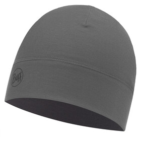Buff Microfiber 1 Layer Hat Solid Grey Castlerock